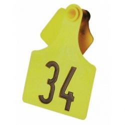 Бирка ушная Primaflex № 3, без номера для крупного рогатого скота