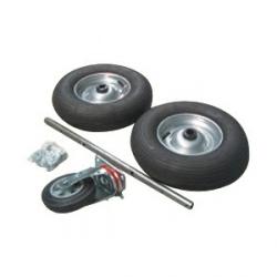 Комплект колес к тележке для транспортировки кормов