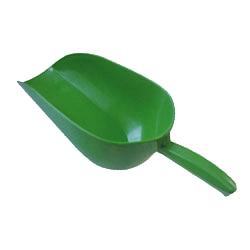 Лопатка пластиковая для корма на 1,5 кг