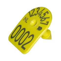 Бирка ушная MS TAG арка, с номером для свиней, овец, коз