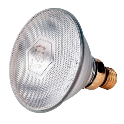 Лампа инфракрасная для обогрева животных и птицы Philips 175 Вт, прозрачная