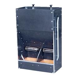 Кормовой автомат бункерного типа для свиней на откорме, со смачиванием (8-12 гол.)