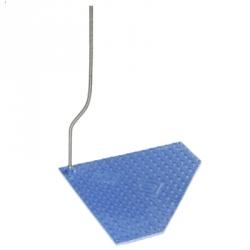 Коврик с подогревом, треугольный, 680x660x680 мм