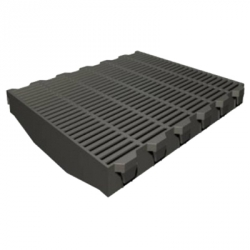 Пластиковая решетка для поросят 600х400 мм