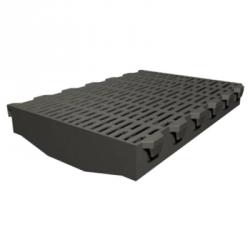 Пластиковая решетка для свиноматок без канта 600х400 мм
