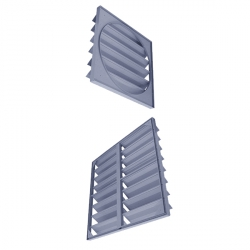 Жалюзи для стеновых вентиляторов